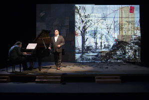 Winterreise; Franz Schubert/William Kentridge; Director and visual concept development: William Kentridge; Matthias Goerne, baritone; Markus Hinterhäuser, piano